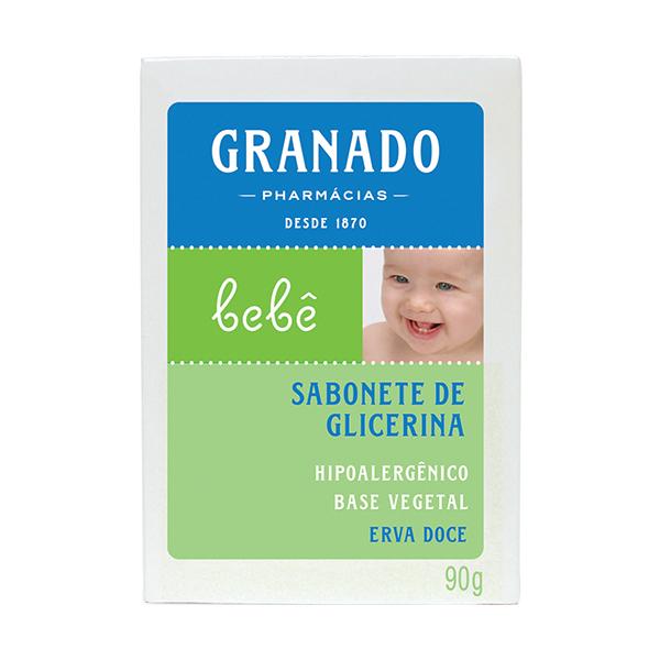 Sabonete Granado Bebe Glicerina Erva Doce 90g
