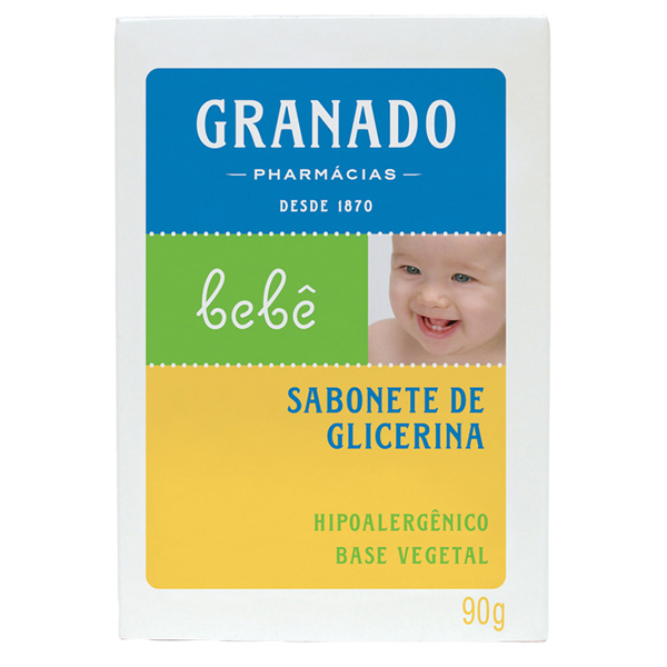 Sabonete Granado Bebe Glicerina Tradicional 90g