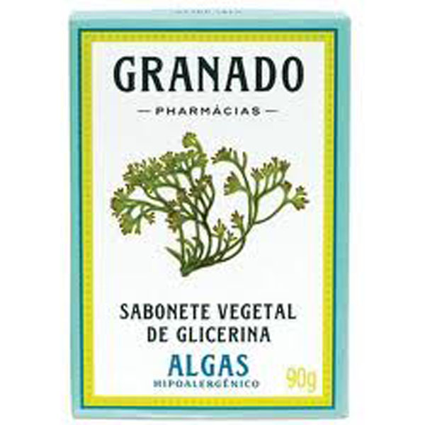 Sabonete Granado Glicerina Algas 90g