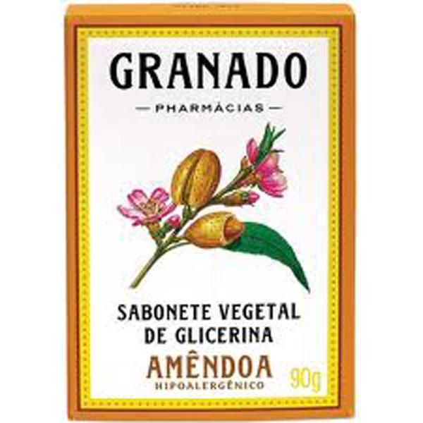Sabonete Granado Glicerina Amendoa 90g