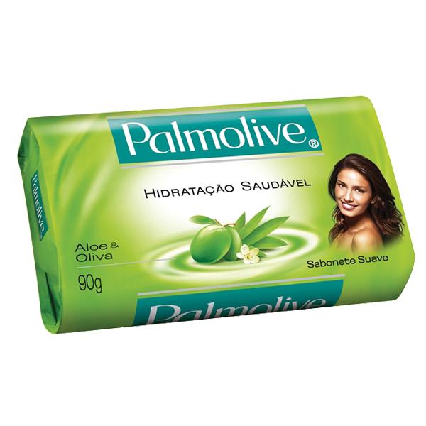 Sabonete Palmolive Suave Aloe / Oliva 90g