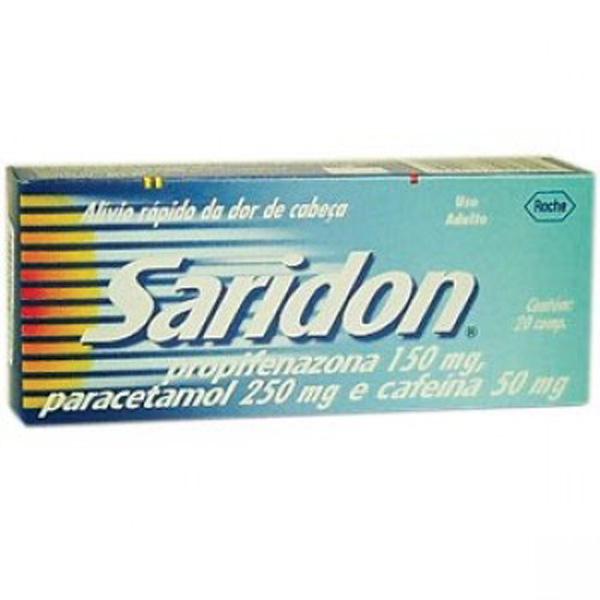 Saridon 20 Cprs