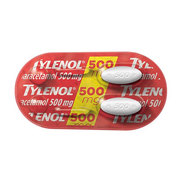 Tylenol 500 Mg 2 Cprs