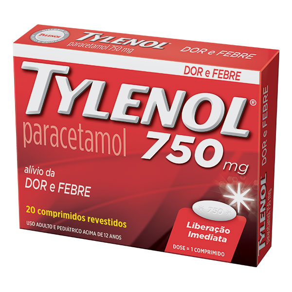Tylenol 750 Mg 20 Cprs