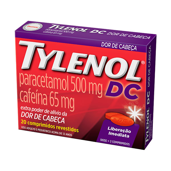 Tylenol Dc 500 Mg 20 Cprs