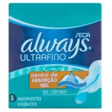Absorvente Always Ultraf C / As 8 Unidades