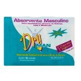 Absorvente Dry Man Masc 10 Unidades