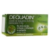 Dequadin 0,25 + 5 Mg 20 Past Menta