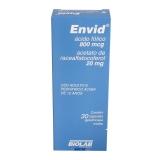 Envid 800+20mg Fr Plas X 30 Cps Mole