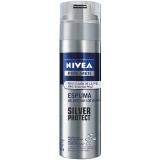 Espuma Para Barbear Nivea Silver Protect 193g