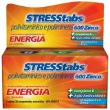 Stresstabs Zinco 600 30 Cprs