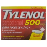 Tylenol Star Power 500 Mg 20 Cprs