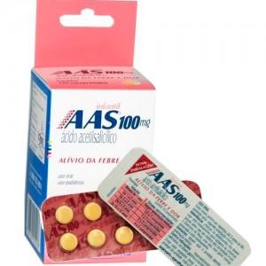 A A S Infantil 100 Mg 200 Cprs
