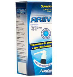 Aftliv Spray 100 Mg 25 Ml