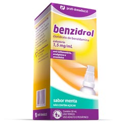 Benzidrol 1,5 Mg Spray 30 Ml