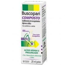 Buscopan Composto 6,67 + 33,40 Mg Solução Oral 20 Ml