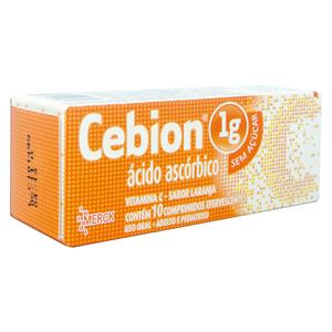 Cebion 1g Efervescente 10 Cprs - de: R$ 15,83 até R$ 16,81