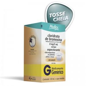Cloridrato De Bromexina Adulto 8 Mg/5ml Xarope 120 Ml