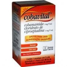 Cobavital 0,8 Mg Xarope 98 Ml + 4mg Prep