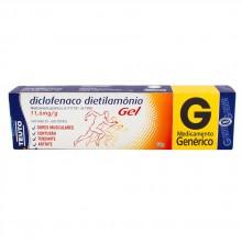Diclofenaco Dietilamoneo 11,6 Mg/G Gel Bg Al X 30 Gr