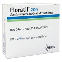 Floratil 200 Mg 4 Saches X 1 G
