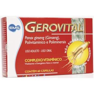 Gerovital Complexo Vitaminico 60 Capsulas Gelatinosas - de: R$ 44,89 até R$ 70,19