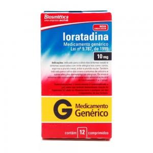 Loratadina 10 Mg 12 Cprs
