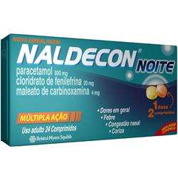 Naldecon Noite 24 Cprs