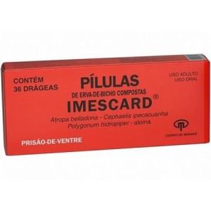 Pilulas Imescard 10 + 10 + 10 + 30 Mg 36drags