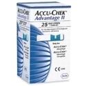 Accu-Chek Advantage Ii 25tiras